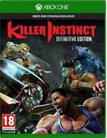 Killer Instinct Definitive Edition - Xbox One - MINT - 1st  Class Delivery