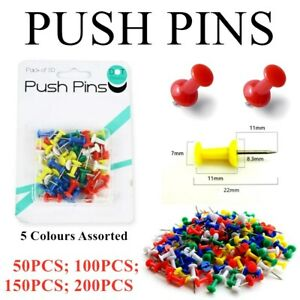Drawing Push Pins Thumb Tacks Silver Map Office School Stationery Cork Brass E