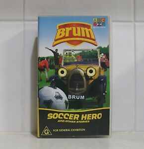 VHS Videotape - BRUM - Soccer Hero and Other Stories - ABC For Kids video