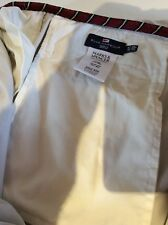 Marks and Spencer Blue Harbour chinos stone colour W38L30