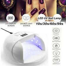Led 60W Uv Nail Lamp Acrylic Polish Gelish Timer Nail Art Lamp for Home Salon