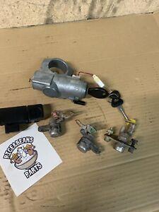 95-98 Nissan 240sx S14 Ignition Door Trunk Glovebox Lock & Key Set OEM