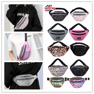 Women Laser Waist Bag Fanny Pack Belt Bag Travel Sport Hip Bum Bag Small Purse