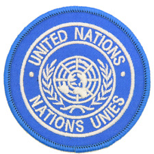 UNITED NATIONS UN ROUND SHOULDER PATCH TRF