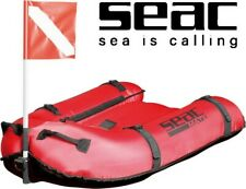 SEAC - Mate, Spearfishing Float Ride ON Inflatable Board /  Buoy with Flag