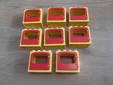 LEGO Duplo - 8 giallo & rosso Windows-GMT14