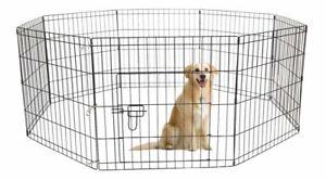 AVC Designs Indoor/Outdoor Pet Dog Foldable Playpen