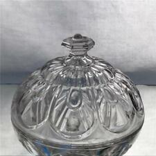 Antique EAPG Flint Glass Gothic Arch Cathedral Compote Lid 1860 Union Glass