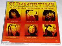 SUMMERTIME - CD - NATALIE COLE - DIANA KRALL - ANDREA BOCELLI - PROMO