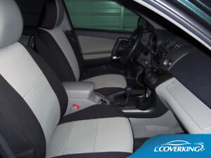 Acura TSX 2004-2008 Tailored Front & Rear Neosupreme Seat Covers from Coverking