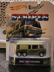 "Hot Wheels ""Stripes"" GMC Motorhome Carded 1/64"