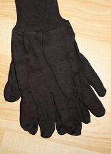 Brown Jersey Work Gloves   Cotton   Large   Outdoor Work, Gardening