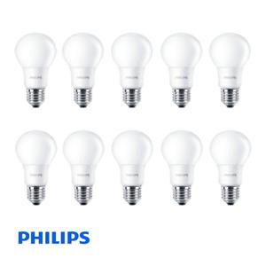 Pack of 10 Philips CorePro LEDbulb ND 5.5-40W A60 E27 827