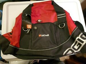 OGIO Golf Half Dome Duffle Bag Gym Bag  Red &Black Small Travel
