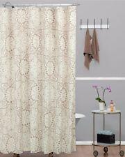 Shower Curtain Crochet Trendy Large Scale Lace Doily Designs Pattern Cotton Wash