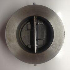 CRANE DUO-CHEK II RETAINERED WAFER VALVE SIZE 4'' G30SPF-201 CLASS 300, 740 PSI