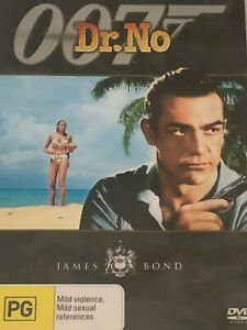 Dr. No Sean Connery Ursula Andress   DVD  Like New