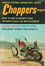 1972 December Choppers Motorcycle Magazine Back-Issue