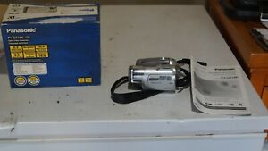 Used Panasonic MiniDv Camcorder PV-GS180 Only  tested