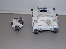 Warhammer 40k Space Marines Predator Tank w/ Baal Turret painted  ()