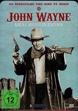 John Wayne - Great Western Edition / 30 Filme , 8 DVD in Metallbox / neu