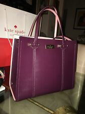 Kate Spade Black Two Tone Leather Elodie  Purse