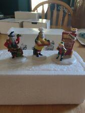 Dept 56 North Pole Village Bakers Elves accessory-set of 3 #15603-0