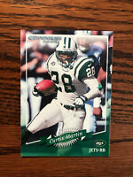 2000 Donruss #97 Curtis Martin Football Card New York NY Jets NFL Raw