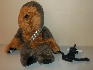 "Build A Bear (BaB) 20"" Plush - Star Wars Chewbacca with Bowcaster Crossbow"