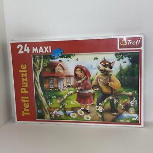Little Red Riding Hood Trefl Puzzle Maxi 24 Piece Kids NEW Rare Poland