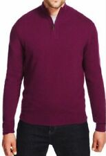 M&S Luxuary Wool Rich Men Jumper with Cashmere, SZ Medium, Plum Colour, was £55