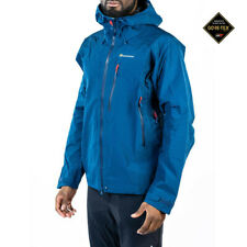 Montane Mens Alpine Pro Jacket Top - Navy Blue Sports Outdoors Full Zip Hooded
