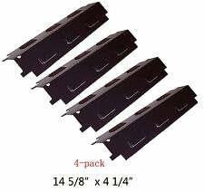 Porcelain Steel Heat Plates 4pk BBQ Gas Grill Parts Shield Cover for Kenmore