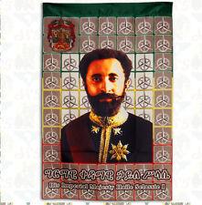 Power of Trinity [drs] Flag Banner Tapestry (80cmx60cm) Haile Selassie Ethiopia