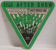Fleetwood Mac / Stevie Nicks - Original Concert Tour Cloth Backstage Pass