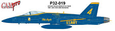 CAM PRO DECAL,1/32 SCALE, P32-019  Blue Angels F/A-18A/B 87, 01 & 06 seasons