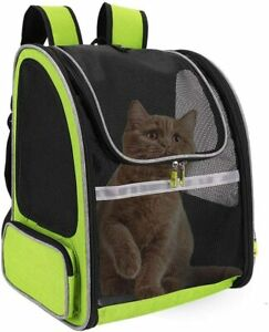 Breathable Pet Carrier Backpack Cat Small Dog Puppy Carry Bag Water Resistant