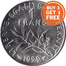 1 FRANC FRENCH 1959 TO 2001 CHOICE OF DATE