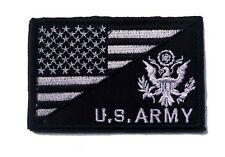 USA FLAG & U.S. ARMY MORALE BADGE TACTICAL MILITARYh PATCHES  PATCH