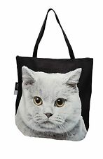 3D bag animal Cute & Unique Gift with BRITISH BLUE SHORTHAIR CAT Handmade!