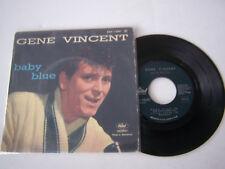 EP 4 TITRES VINYLE 45 T , GENE VINCENT , BABY BLUE . VG - / VG  .