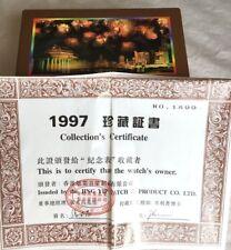 Watch 1997 Hong Kong Handover Commemorative Limited Ed