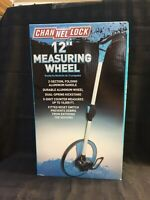 NEW Channellock 12 In. Measuring Wheel Collapsible Counts Up To 10,000Ft (1A)