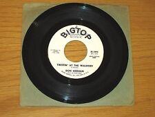 """PROMO ROCK + ROLL 45 RPM - DON MEEHAN - BIG TOP 3096 - """"TWISTIN' AT THE WALDORF"""""""