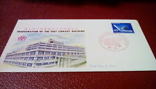 Japan 1961 Fdc Scott #739 10y Inauguration of the Diet Library Building
