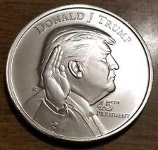 Donald Trump 1 OZ. President .999 Silver One Troy Ounce Coin Bullion