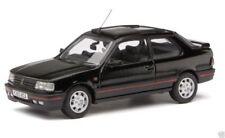 Coches, camiones y furgonetas de automodelismo y aeromodelismo negros, Peugeot, Escala 1:43