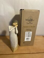 """Willow Tree Susan Lordi Signature Collection #27884 """"Wishing"""" New In Box"""