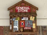 Coca-Cola Town Square General store collectible decorative hanging sign