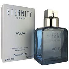CK Eternity Aqua for Men by Calvin Klein 3.3 oz Eau de Toilette Spray